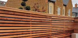 How to Set a Wooden Post for Cedar Privacy Fencing