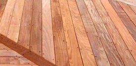 Maintenance Free Decking From Colorado's Cedar Supply Looks Like Real Wood
