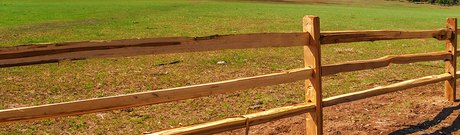 Split Rail Fencing & Dowel Rail Fencing