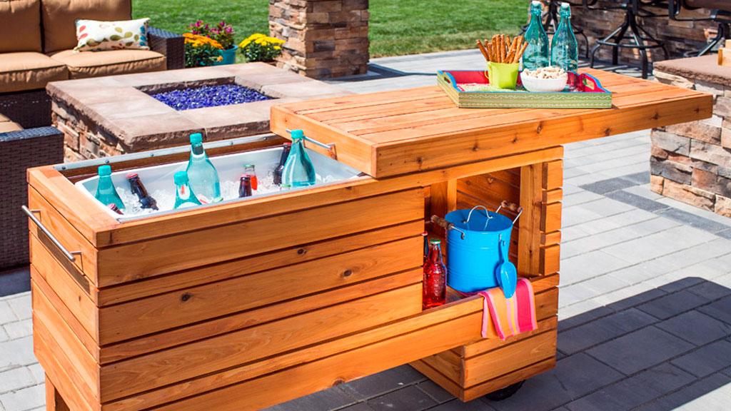 Diy Outdoor Kitchen Cedar Supply